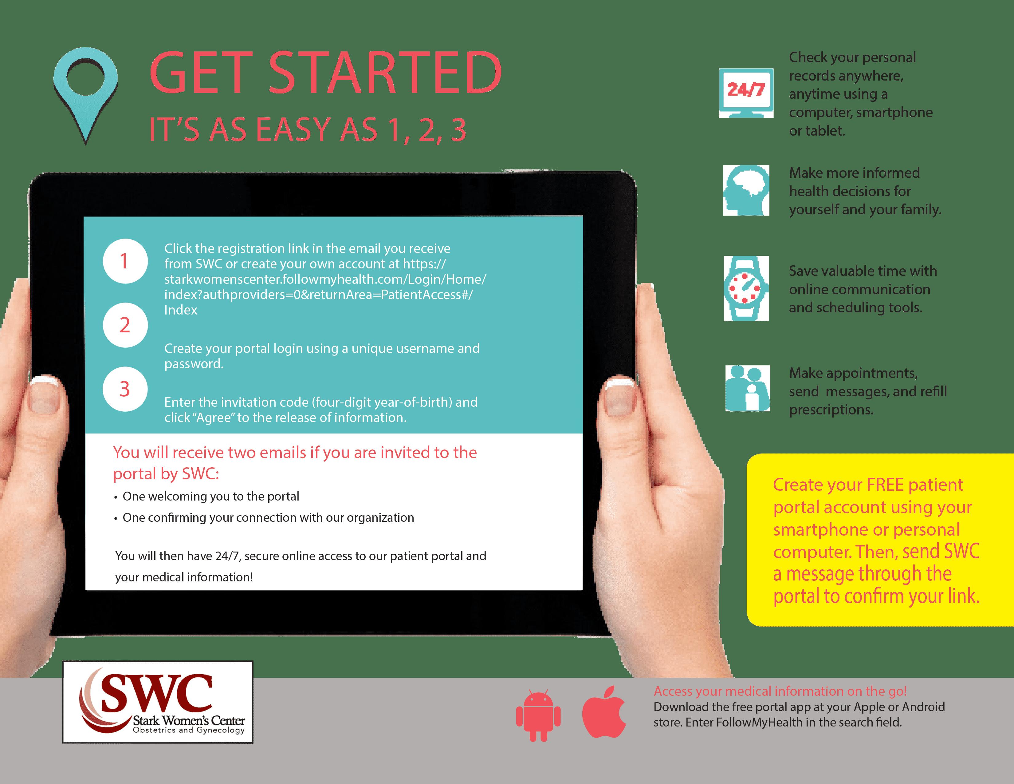 SWC Patient Portal Brochure-2